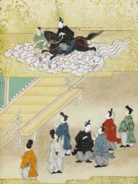 Shotoku taishi eden (Illustrated biography of Crown Prince Shotoku), fin XVIIe, début XVIIIe