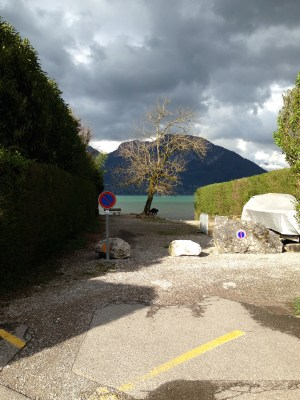 Lac d'Annecy, le Piron - mardi 8 avril 2014, vers 17 h 30 - IMG_2465