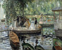 Pierre Auguste Renoir - la Grenouillère, 1869