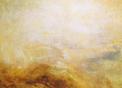 Joseph Mallord William Turner - paysage dans le Val d'Aoste, 1840-50