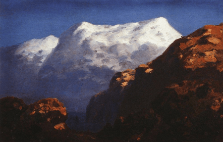 Arkhip Kuindzhi - Montagnes, vers 1895
