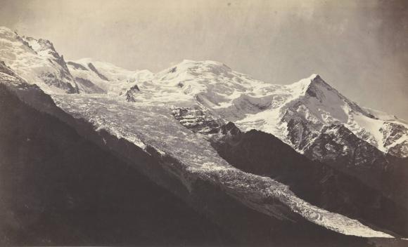 Pierre-Henry Frangne, Alpinisme et photographie - le mont Blanc