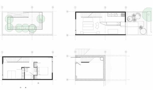 maison de ville à Los Angeles, CA, USA – Anonymous Architects, Simon Storey 8