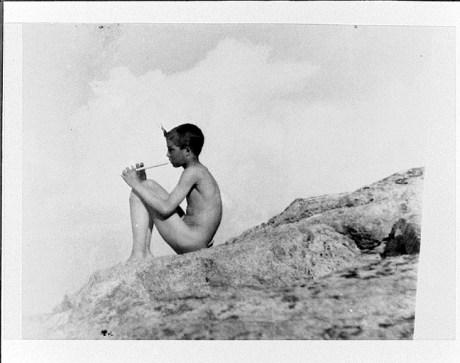 Anne Bringman -  Piping Pan, vers 1915