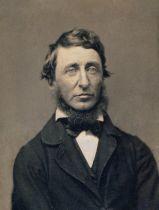 Henry David Thoreau (1817-1862) - portrait en 1856 par Benjamin D. Maxham