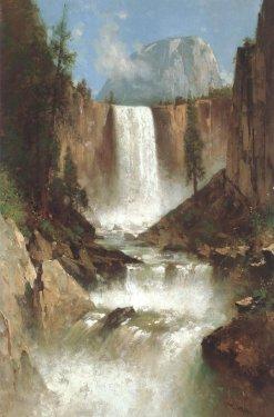 Thomas Hill- Vernal Falls Yosemite -1889.jpg
