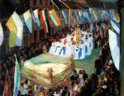 Weisgerber - Procession à St Ingbert, 1907