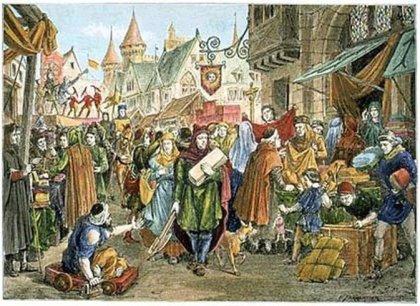Foire au Moyen-Âge