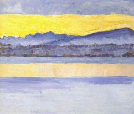 Hodler - lac Léman