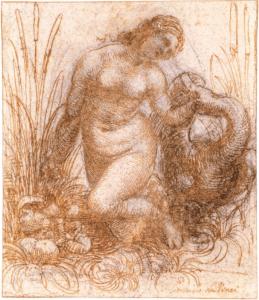 Léonard de Vinci - Etude pour Léda et le cygne