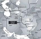 un autre tracé du gazoduc TAP (Trans Afghanistan Pipeline)