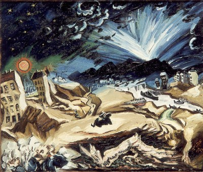 Ludwig Meidner - Paysage apocalyptique, 1913