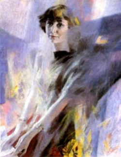 George G. Sjisjkin - portrait de Marina Tsvetaeva