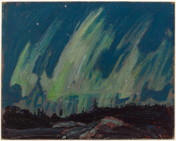 Tom Thomson - Northern Lights - Eté 1915