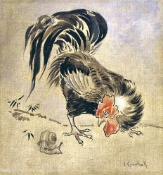 Illustration Joseph Crawhall - Spanish Cock and Snail.jpg