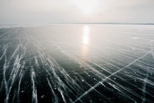 Lac Ladoga gelé - photo Anton Skopin