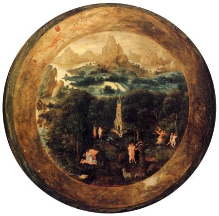 Herri met de Bles - Le Paradis, entre 1541 et 1550