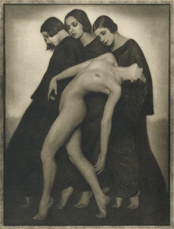Rudolf Koppitz - Etude de mouvement, 1925