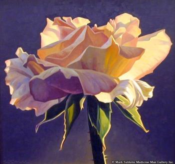 Dusk Rose by Ed Mell
