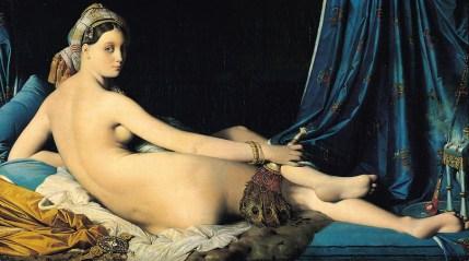 Jean-Auguste-Dominique Ingres, The Grand Odalisque, 1814,