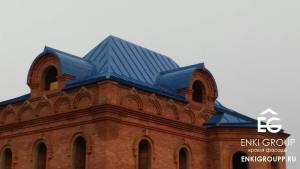 Изготовление и монтаж фальцевой кровли Москва и МО