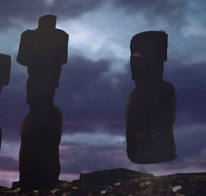 Rapa Nui Moi moving thru space