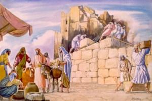 Jerusalem temple rebuilding