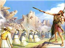 Joshua, whom Enlil instructed in directed sound frequency warfare. took Jerico