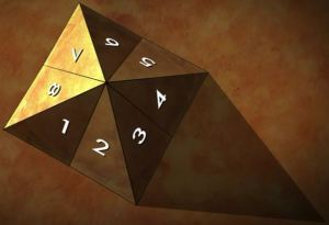 8 sides toGreat Pyramid