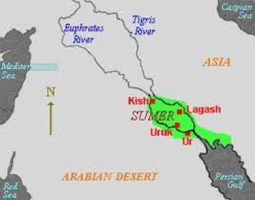 Uruk Map