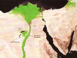 Fayum Map w Canaan