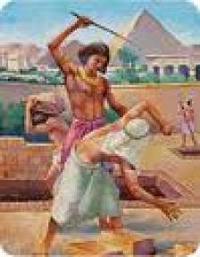 Moses Kills Egyptian Overseer2