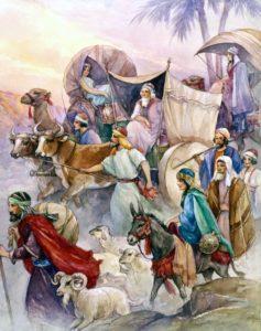 joseph family taken go to Egypt
