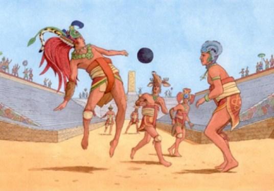 Maya Ballgame beheads losing teams captain