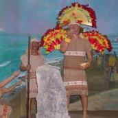 Indians Boated To The Americas Across Pacific And Atlantic: Web Radio, Article, Illustrations