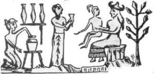 Ningishzidda, Enki, Adamu & Ninmah
