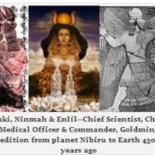 ANUNNAKI WHO'S WHO with illustrations from  Marduk: King of Earth