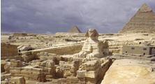 Sphinx Great Pyramid