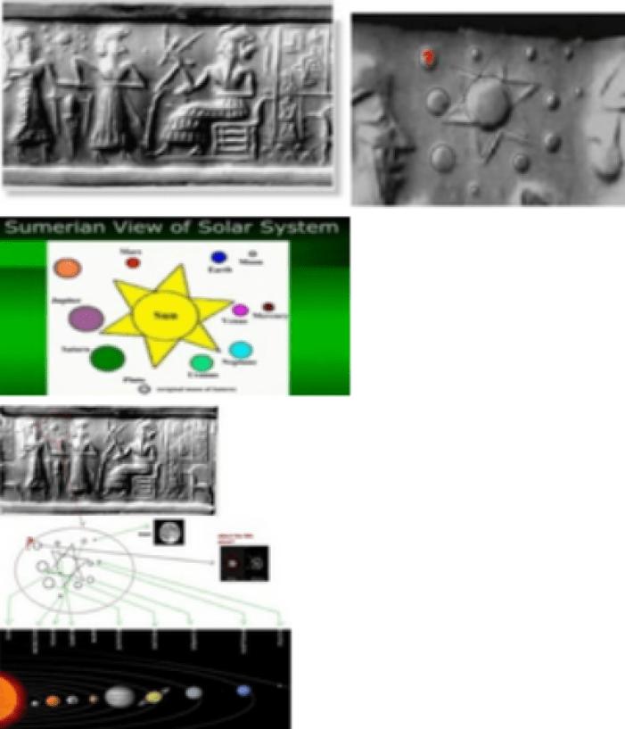 Solar System tablet composit