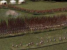 Alexander's army w cavalry too