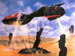 spaceship and Gobekli