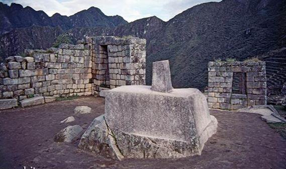 Intihuatanna at Machu