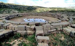 gold panning circle, Cuzco