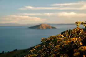 island in Titicaca
