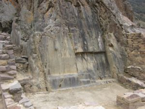 Stone quarry, Andes