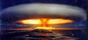 Saucer nukes Earth