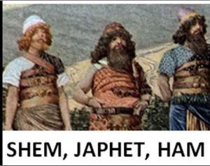 Shem Japhet, Ham