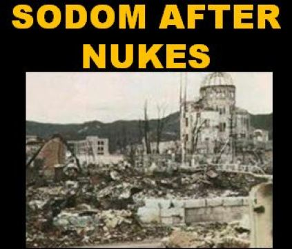 Sodom ruins