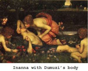 Inanna & dead Dumuzi 1