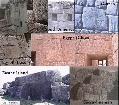 Massive ancient stoneworks